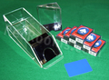 Blackjack Dealing Shoe & Discard Holder Set - 6 Deck