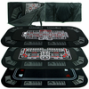 3-in-1 Poker/Craps/Roulette Tri-Fold Table Top w/Cs