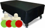 Air Hockey Accessory Kit with 8 ft Air Hockey Cover