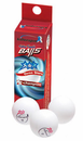 """Killerspin """"Champion"""" 3-Star Table Tennis Balls (Pack of 3)"""