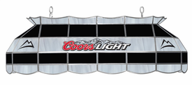 "40"" Coors Light Stained Glass Light Fixture"