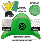 Portable Golf Practice Net with Case