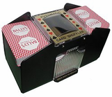 Playing Cards, Automatic Card Shufflers & Card Holders