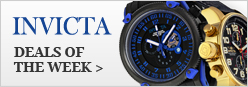 Invicta Deals of the Week