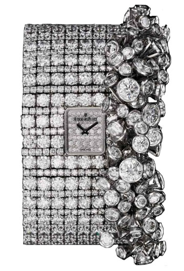 Audemars Piguet Bracelet Coup-de-Theatre 18kt White Gold Diamond Ladies Watch 79413BCZZ9176BC01