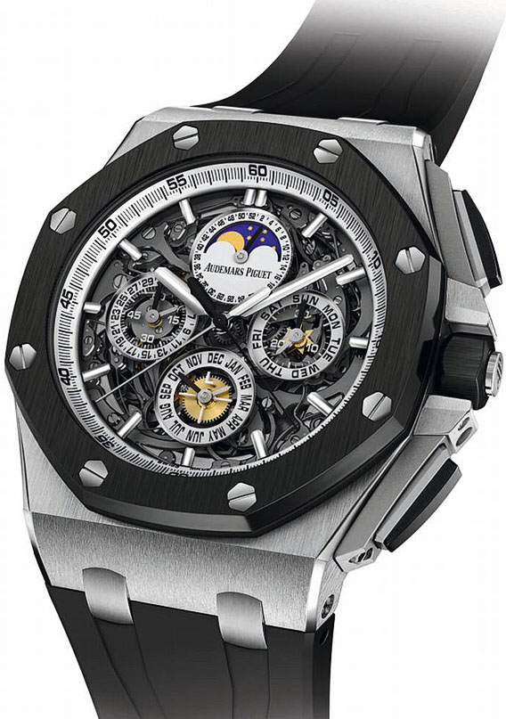 Audemars Piguet Royal Oak Offshore Grande Complication Ceramic and Titanium Mens Watch 26571IO. OO. A0