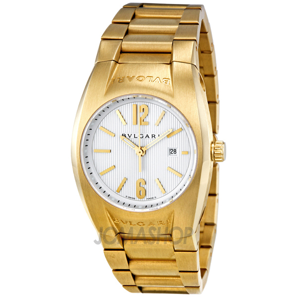 bvlgari ergon silver 18kt yellow gold