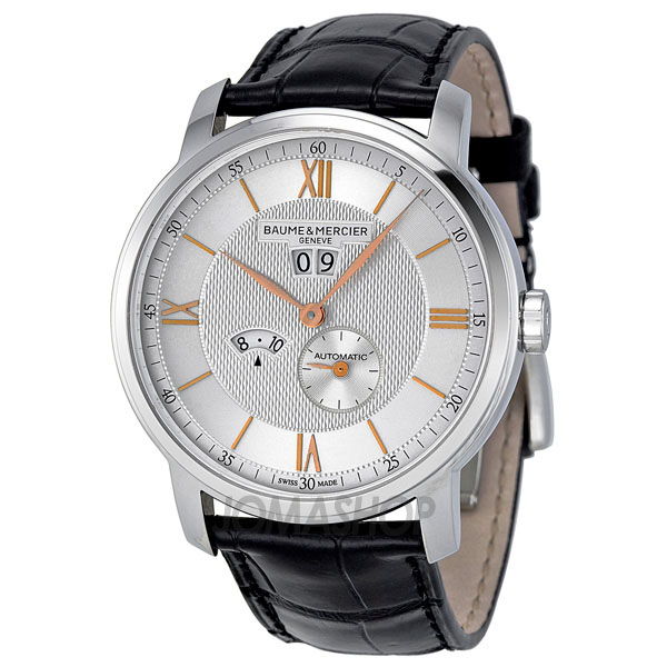 限量版:Baume and Mercier Classima Silver Dial Stainless Steel Mens Watch MOA10038-奢品汇 | 海淘手表 | 腕表资讯