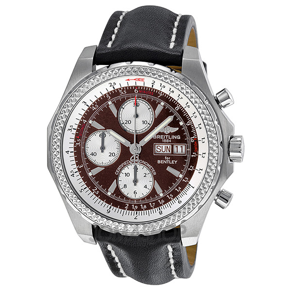 breitling bentley gt racing chronograph automatic burgundy dial mens. Cars Review. Best American Auto & Cars Review