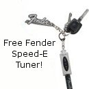 Fender Speed-E Guitar Tuner Special!