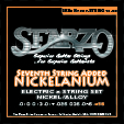 "Sfarzo Electric  Guitar ""Nickelanium"" 7-String, .010 - .056, N756"