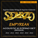 "Sfarzo Acoustic Guitar ""Empyrean"", .012 - .054, E040"