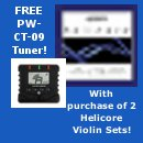 Free Planet Waves PW-CT-09 With 2 D'Addario Helicore Violin Sets!
