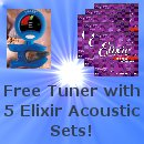 Free Snark SN-1 With 5 Elixir Acoustic Guitar Sets!