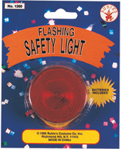 Blinking Flashing Safety Light for Halloween Trick-or-Treating by Rubie's