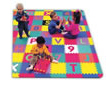 64 Piece Alphabet & Number Interlocking Foam Floor Play Mat