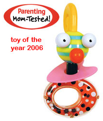 Zolo Chacha Buggy Sensory Pleasing Rattle by Kushies