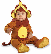 Monkey See, Monkey Do Ez-On Romper Kid's Halloween Costume by Rubie's