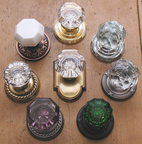 crystal door knobs vintage 2
