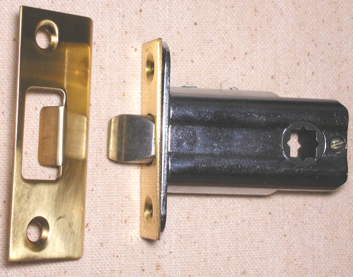 Narrow 1 3 4 Quot Backset Latch For Knobs Or Levers