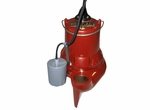 Liberty Automatic Submersible Sewage Pump 135 GPM  1/2 HP  LE51A-2 (DD)