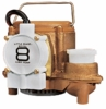 Little Giant Auto. Bronze Sump Pump 54 GPM 4/10 HP # 8-CBA (508357) (D)<br>