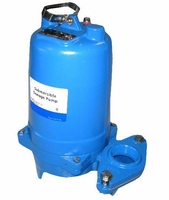 Goulds Water Technology Sewage Pump 183 GPM 1 HP 230 V  # WS1012BF (X) <br>