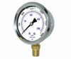 """Liquid Filled Stainless Steel Pressure Gauge 2-1/2"""" Up To 2000 psi"""