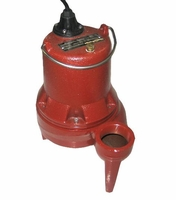 Liberty Submersible Sewage Pump 135 GPM 1/2 HP 230 V. 1 PH # LE52M-2(C)