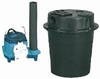 Little Giant Sink Drain System 44 GPM 3/10 HP 5.5 Gal, WRS-6 (506055) (D) <br>