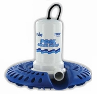 Rule Pool Cover Pump 1800 GPH 115 V. 24' Cord H53SP-24  (D) <br>