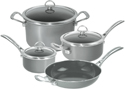 Chantal Copper Fusion 7 Piece Cookware Set