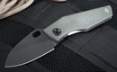 Strider Knives SJ75 Ranger Green and Black Blade Folding Knife