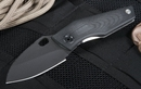Strider Knives SJ75 Black on Black Tactical Folding Knife