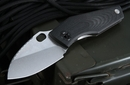 Strider Knives SJ75 Black Tactical Folding Knife