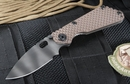 Strider SNG GG Coyote Tan Tiger Stripes Tactical Folding Knife