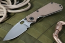Strider SMF Coyote Tan Tactical Folding Knife
