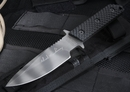 Strider MT-MOD-10 Black Gunner Grip Sniper Chuck Mawhinney Tactical Fixed Blade