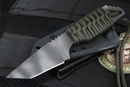 Strider DB Ranger Green Cord Wrap Fixed Blade