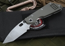 Duane Dwyer Custom SMF Stainless Damascus Tactical Folding Knife - SOLD