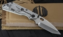 Duane Dwyer Custom SNG T Artic Grey Tactical Folding Knife -SOLD