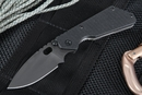 Strider PT Black and Blasted Tactical Folding Knife -SOLD