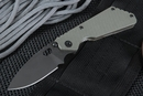 Strider PT Ranger Green and Black Flamed Tactical Folding Knife -SOLD