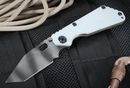 Strider Knives SNG T Artic Grey and Tiger Stripes Folding Knife -SOLD