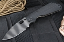 Strider SNG CC Black and Tiger Stipes Folding Knife - OUT OF STOCK