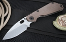 Strider SNG CC Coyote Tan and Stone Washed Tactical Folding Knife