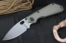 Strider SNG CC Ranger Green Folding Knife - SOLD