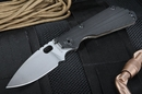 Strider SNG CC Black Heat Flamed Tactical Folding Knife -SOLD
