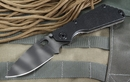Strider Knives SNG Black Tiger Stripe Folding Knife