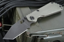Strider Knives SNG CC Tanto Ranger Green  and Black Folding Knife - SOLD